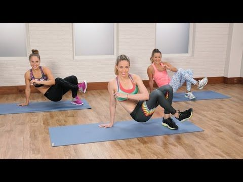 This high-intensity circuit workout will have you burpee, squat, and plank your way to a bikini body. POPSUGAR Fitness offers fresh fitness tutorials, workou...