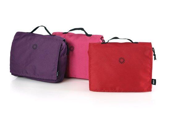BRIO Nursery Bag, Red/Fuchsia/