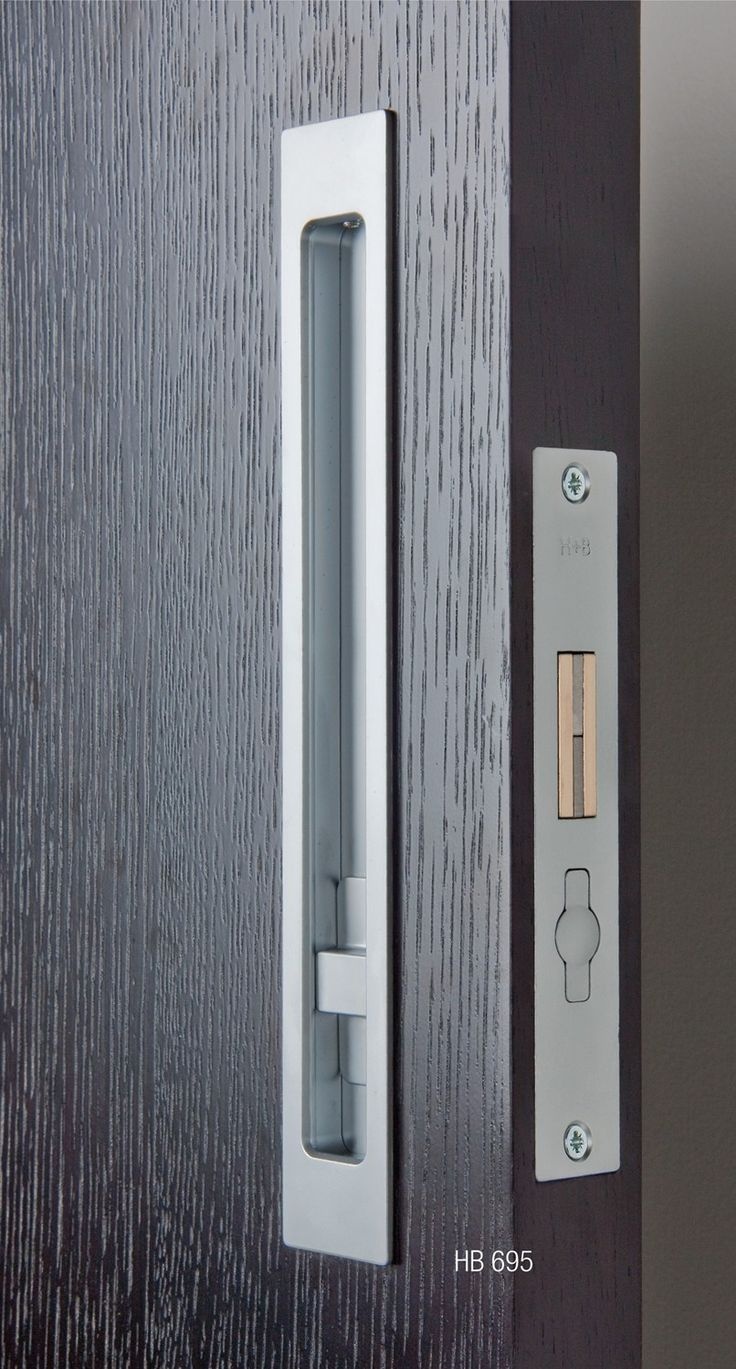 Sliding Door Hardware Hb695 Privacy Lock Halliday