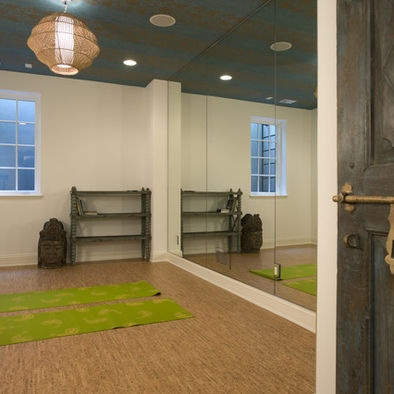 Basement Exercise Rooms Design Pictures Remodel Decor And Ideas
