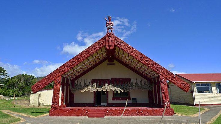 Te Kaha marae, see more at New Zealand Journeys app for iPad www.gopix.co.nz