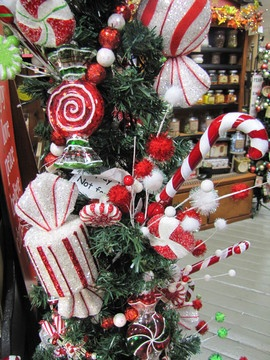 Candy Cane Christmas Decorations 142 Best Candy Christmas Decor Images On Pinterest  Christmas