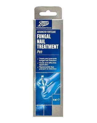 #Boots Pharmaceuticals Boots Advanced Footcare Fungal Nail Treatment #72 Advantage card points. Boots Pharmaceuticals Fungal Nail Treatment Pen treats and prevents fungal nail infection. Always read the product information before use. FREE Delivery on orders over 45 GBP. (Barcode EAN=5045092130216)