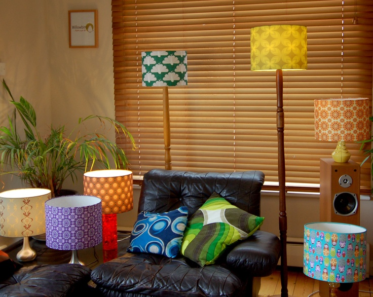The 172 best funky lampshades images on pinterest lamp shades love these retro lampshades aloadofball Choice Image