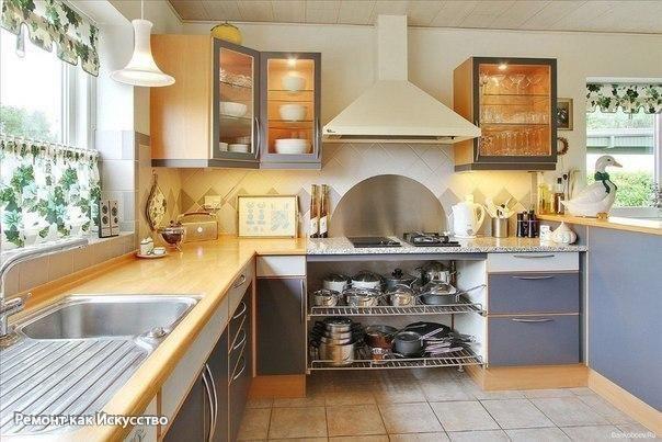 Кухня по Фэн-Шуй: советы, которые изменят вашу жизнь к лучшему.  Самое первое — это расположение кухни в общем плане квартиры. Идеальный вариант по Фэн-Шуй: кухня в южной или восточной части квартиры или дома.  Южная часть считается стихией Огня, а восточная — Дерева. Важно, чтобы кухня была отделена от жилых помещений, которые в свою очередь обладают специфическими энергиями. А также вход в кухню не должен быть виден со стороны главного (парадного) входа.  Согласно восточному учению…