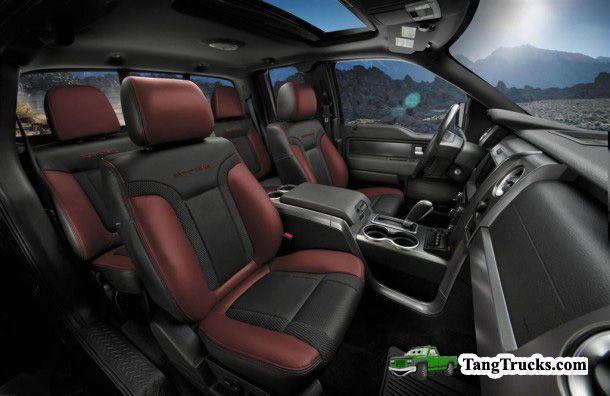 2016 Ford Bronco interior