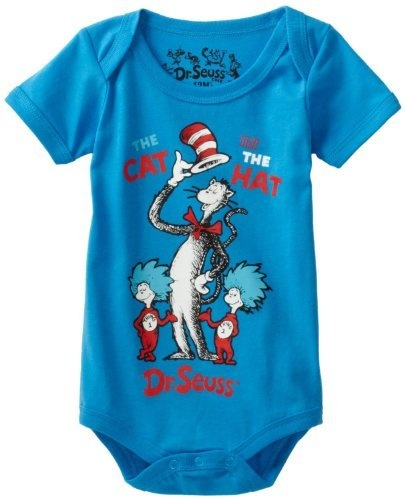 """Dr. Seuss The Cat in the Hat """"Thing 1 & Thing 2"""" Infant Boys Bodysuit Size 3M-24M (12M) Dr. Seuss, http://www.amazon.com/dp/B008VEB0LU/ref=cm_sw_r_pi_dp_nEMxqb0ER5FFC"""