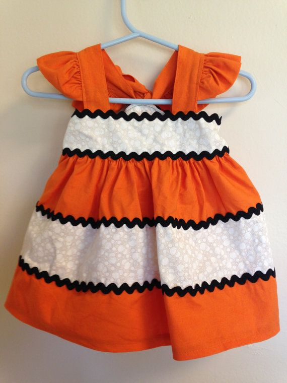 Finding Nemo Inspired Dress by MmmmSewGoodDesigns on Etsy