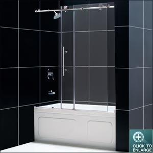 Frameless Sliding Tub Shower Doors 9 best shower barn door images on pinterest | barn doors, bathroom