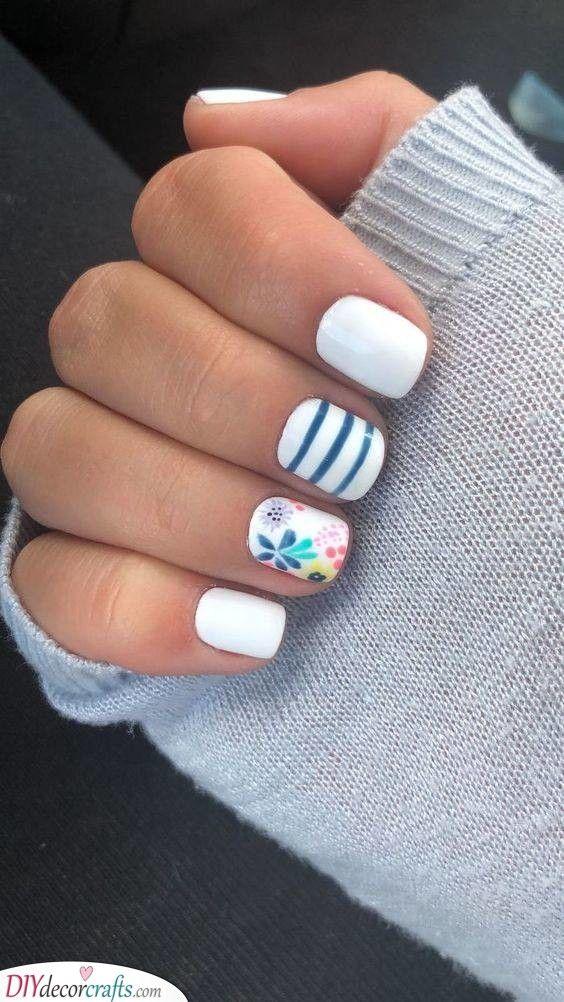 Cute And Simple Summer Nail Designs Nails Naildesigns