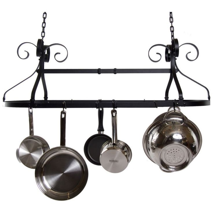 17 Best Ideas About Pot Rack Hanging On Pinterest Pan