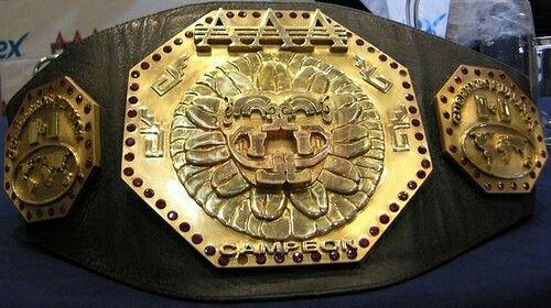 AAA Lucha Libre Campeón (World Heavyweight Champion)