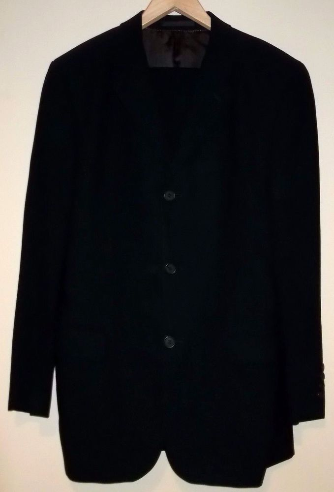 TED BAKER ENDURANCE Mens 2 Piece Suit Blazer Trousers Fit Size 38R 100% Wool #TedBaker