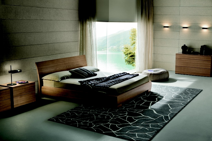 Natural wood bedroom  Dall'Agnese - Victor