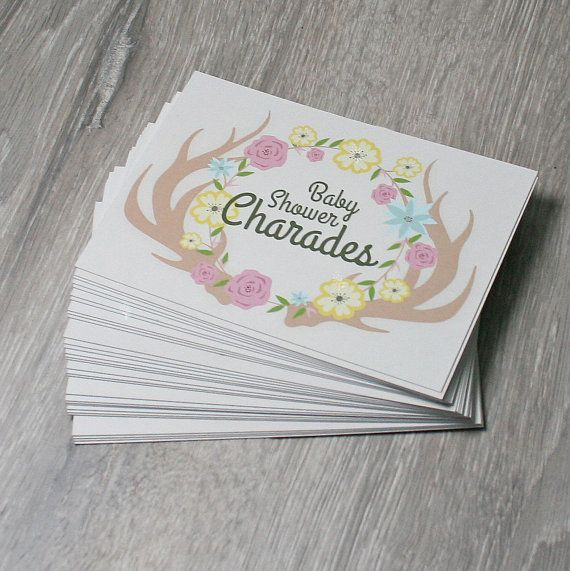 Best 25+ Baby Shower Charades Ideas On Pinterest