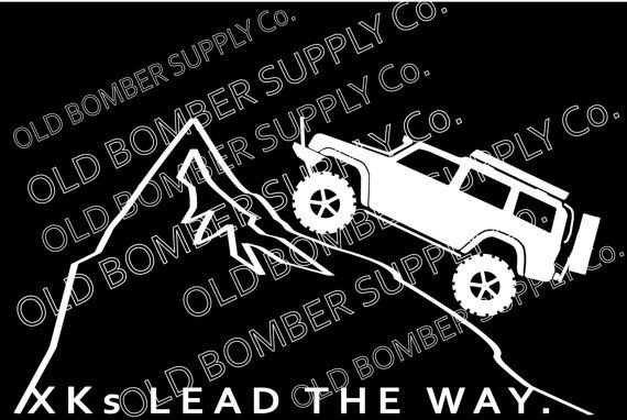 Check out this item in my Etsy shop https://www.etsy.com/listing/288467695/xks-lead-the-way-jeep-commander-xk-decal