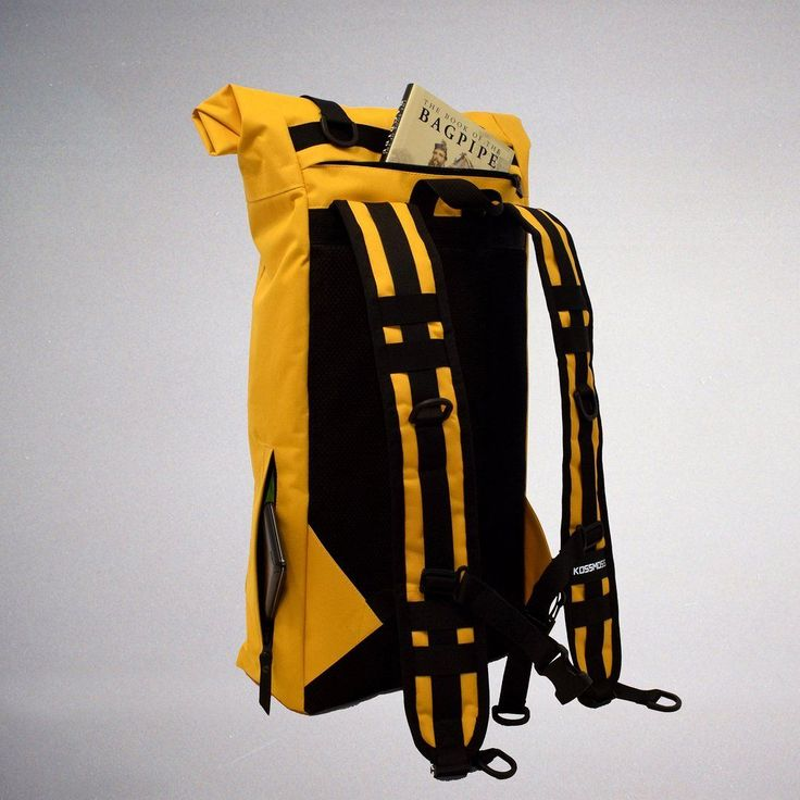 Yellow roll top backpack - Reflective safety pattern that are visible from all angles - Durable water resistant fabric Cordura 1000D - Laptop inside compartment Available here http://ift.tt/2zGREog . . . . #backpack #rolltopbackpack #kossmossbags #Twitter #handmade #etsy #rucksack #etsyshop #fashion #streetfashion #style #streetstyle #photooftheday