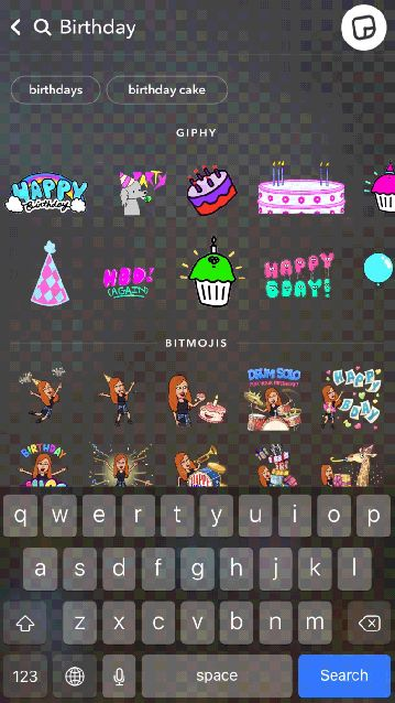 Snapchat gets new GIF stickers from GIPHY discover screen tabs and more http://ift.tt/2FjK4D1