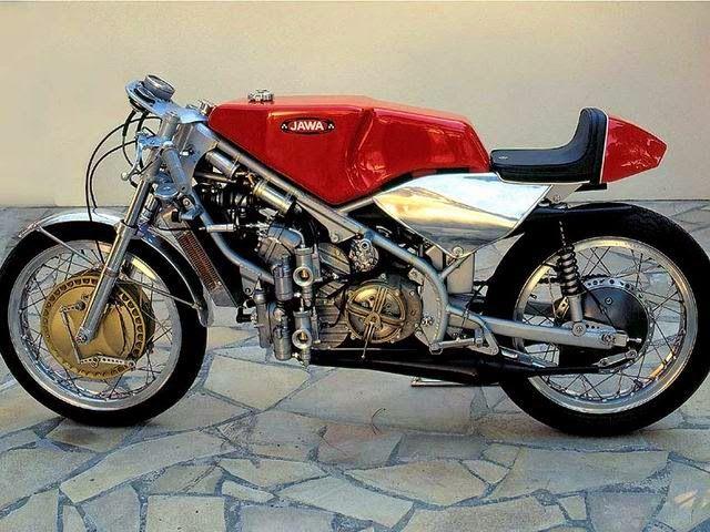 Jawa 350 V4 type 673 | 99garage | Cafe Racers Customs Passion Inspiration