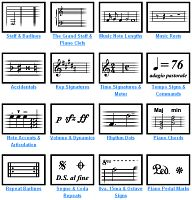 music signs and symbols | Learn the musical symbols of piano sheet music with an easy-to ...