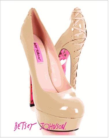 Betsey JOHNSON: Fashion Shoes, Betsy Johnson, Clothes Purses Shoes, Shoes Betsey Johnson, Nude Shoes Betsey, Nude Heels, Shoes Clothes Jewelry Purses, Johnson Shoes, Clothe Shoes
