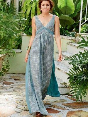 101B-042016-B, burda style, Boho-Kleid, Nähen, DIY