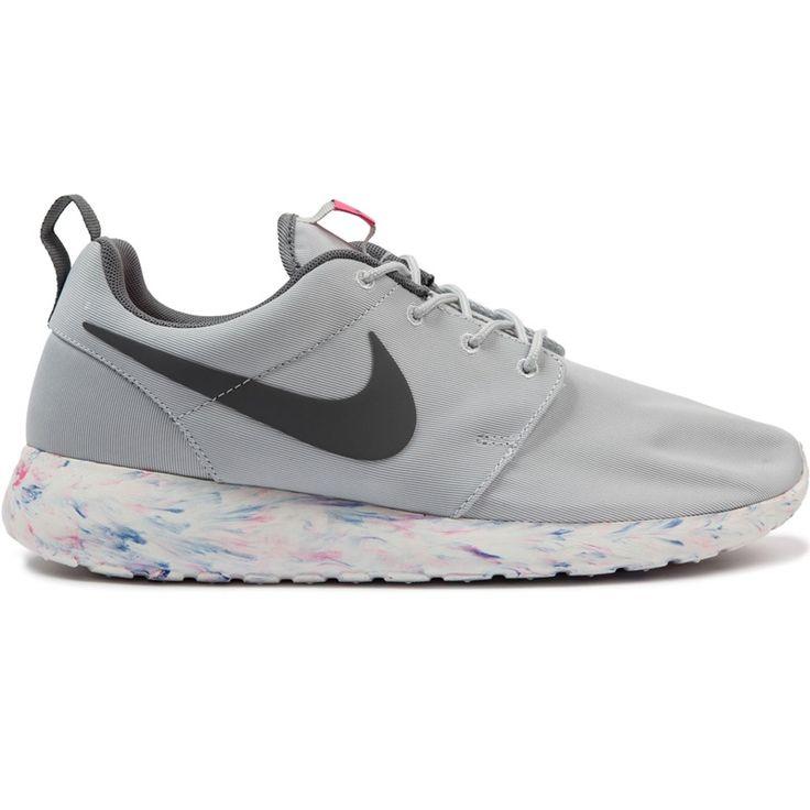 Nike Roshe Run Marble Pack Platinum/Grey Blue