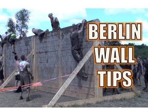 Tough Mudder Berlin Wall Tips
