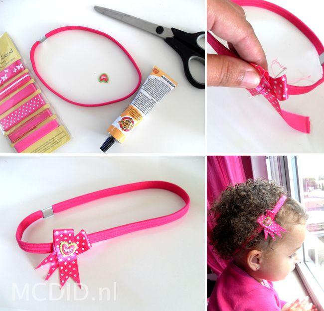 DIY lief! haarband. Lees hier hoe: http://www.mcdid.nl/2012/08/27/dat-kan-goedkoper-haarband/