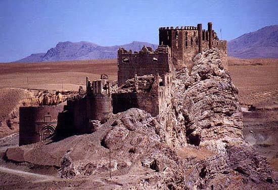 Ruins of a fortress, Van, Turkey.