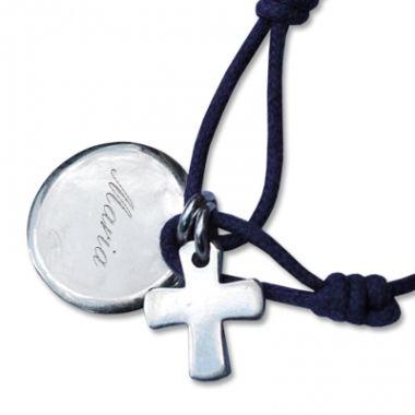 Bracelet personnalisé avec la Croix