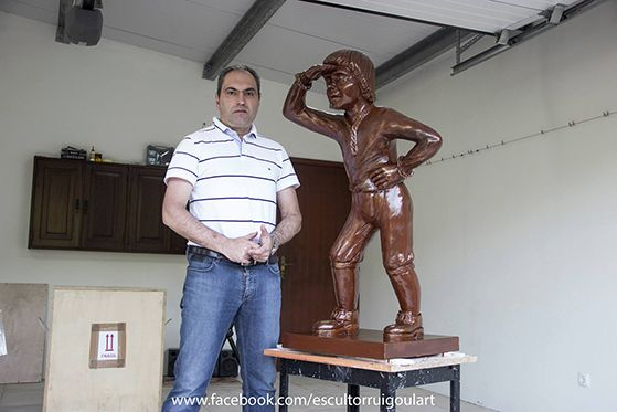 Peter Francisco Statue 250th Anniversary of his Capture from Terceira Island, #Azores.