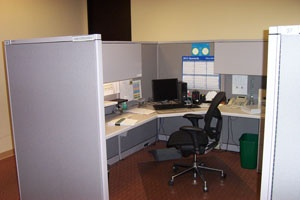 Used cubicles for sale in Phoenix.