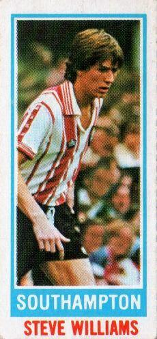 Steve Williams of Southampton in 1979.