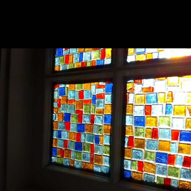 DIY Stained glass windows!