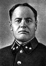 Gorodnyansky Auxentios Mikhailovich (1896 - 1942), Lieutenant-General of the Red Army during the Great Patriotic War (WWII in Russia), the commander of the 13th and 6th Soviet Armies. He died in May 1942, committed suicide after the death of his troops surrounded during the Battle of Kharkov.