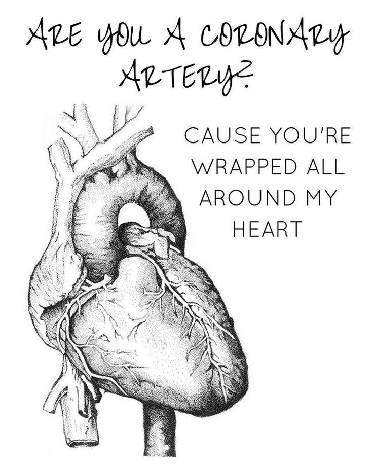 Happy Valentines Day to my medical peeps! #medicalhumor #anatomicalheart #medicalmeme