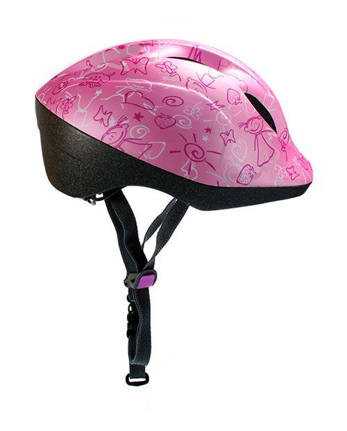 MET Super Buddy Pink Drawings Kids Helmet | Bicycle Helmet | www.unikcycle.com