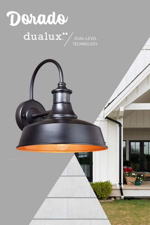 Turn Outdoor Lighting Into Outdoor Living With Dualux Dual Level Technology Vaxcel Barn Lighting Outdoor Barn Lighting Vaxcel