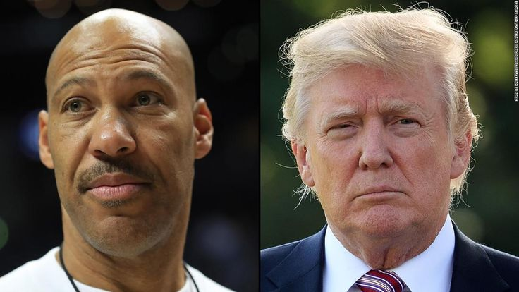 """Before 6 a.m. ET, Donald Trump had already sent two tweets about the self-proclaimed """"big baller"""" LaVar Ball."""