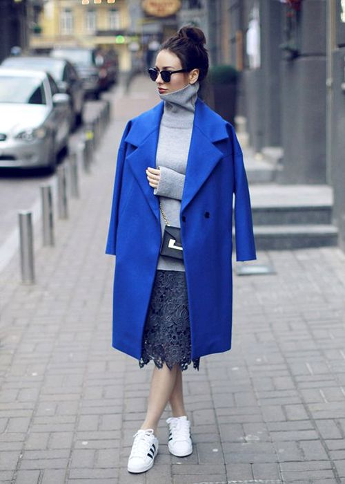 Женское драповое пальто - 60 ультрамодных моделей 2017