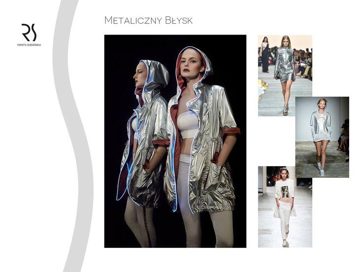 metallic jacket - Ranita Sobanska  #rs #moodboard #fashion #ReadyToWear #PolishFashionDesigner #FashionDesigner #designer #sportfashion #ModaPolska #PolscyProjektanci #silver #metallic