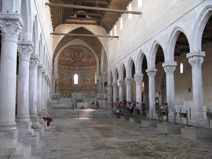 Aquileia interno basilica fonte archivio turismo fvg for Interno 5 b b roma