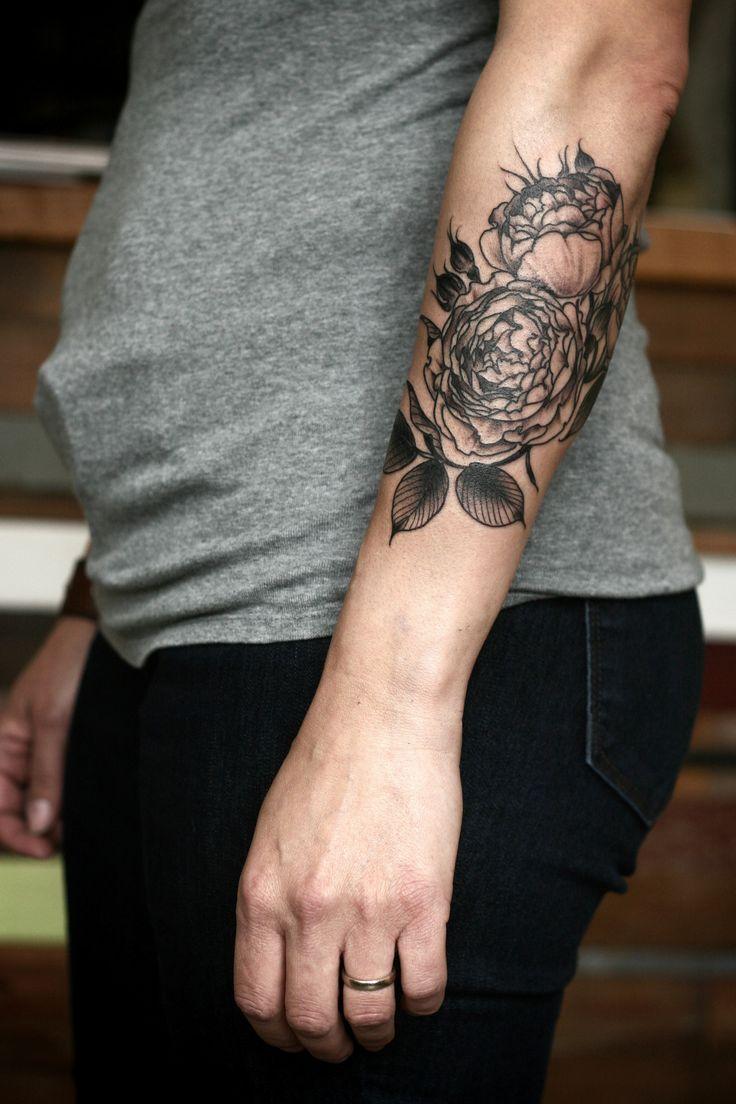 die besten 25 englisches rosen tattoos ideen auf. Black Bedroom Furniture Sets. Home Design Ideas