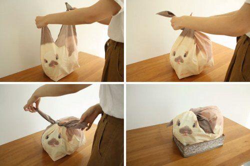 Очаровательные мешочки в виде кроликов превратят беспорядок в уют (6 фото)
