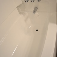 A person from Hometalk :: I just finished painting my bathtub a couple of days ago. I used Rust-…