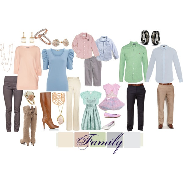 Picture Day Outfit Ideas! Traditional palette for any blend of family. Love is love.