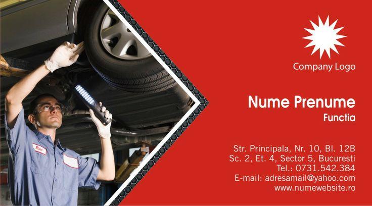 Alege unul dintre cele 10 modele online gratis pentru carti de vizita service auto, ce se pot utiliza si pentru firmele care comercializeaza piese auto, anvelope auto sau au stradal vulcanizare auto.
