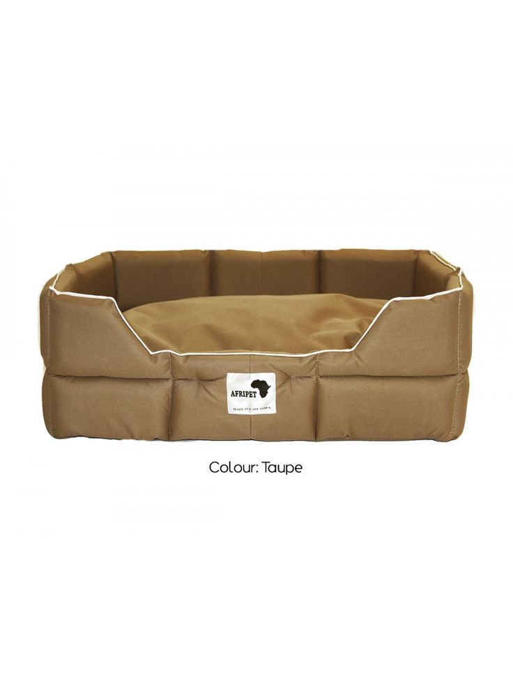 Afripet Tuffee Bed in Taupe