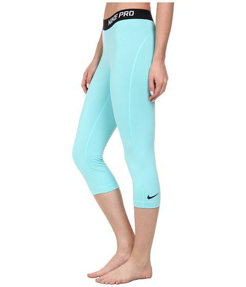 Greedo! in LIGHT AQUA Nike Pro Capri Light Aqua/Black - Zappos.com Free Shipping BOTH Ways
